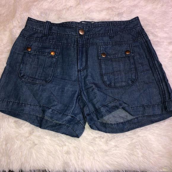 Cache Pants - Cache blue jean shorts